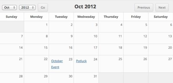 カレンダー機能をwordpressに。おすすめプラグイン12個