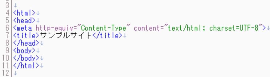 実際にHTMLを書いてみよう
