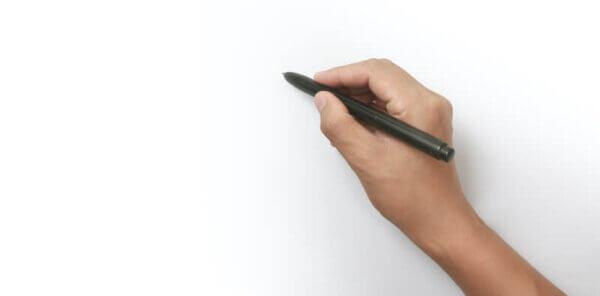 人にイラストの描き方を教えるイメージ